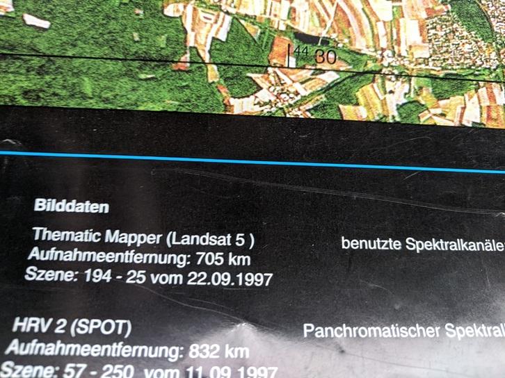 Kartographie des 20. Jahrhunderts Landsat 5: Copernicus in Deutschland Sammeln