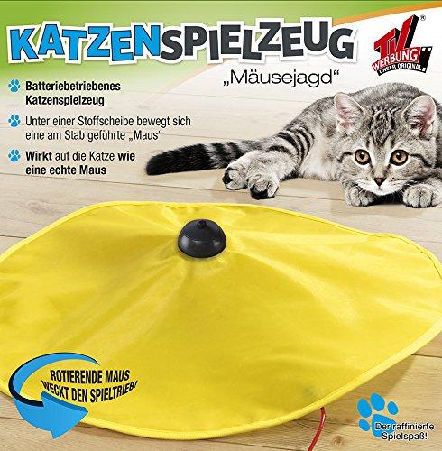 Katzen Spielzeug Zuhause Indoor Katzenspielzeug Mäusejagd Undercover Mouse Mäuse Jagd TV Werbung Haushalt