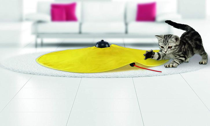 Katzen Spielzeug Zuhause Indoor Katzenspielzeug Mäusejagd Undercover Mouse Mäuse Jagd TV Werbung Haushalt 2