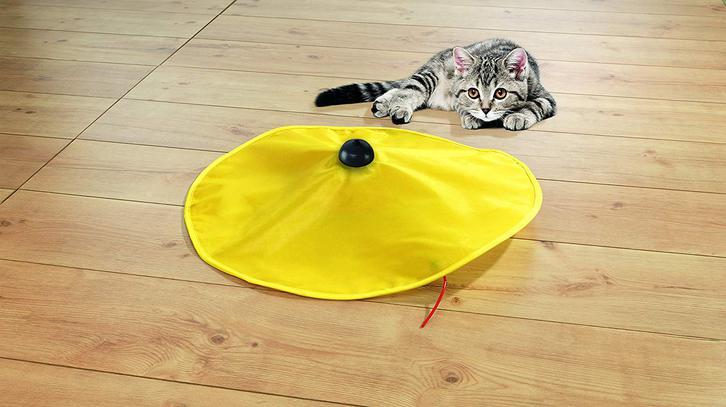 Katzen Spielzeug Zuhause Indoor Katzenspielzeug Mäusejagd Undercover Mouse Mäuse Jagd TV Werbung Haushalt 3