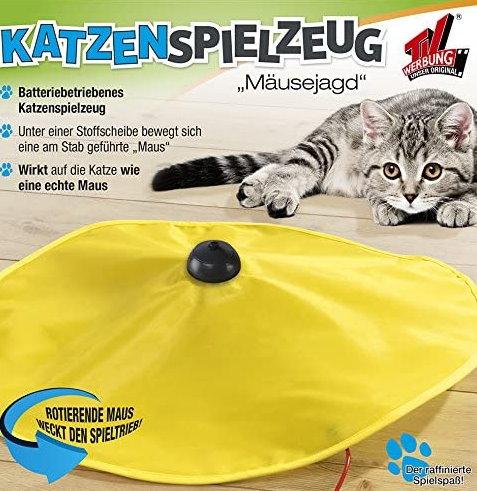 Katzenspielzeug Mäusejagd Undercover Mouse Indoor Zuhause Spielzeug Unterhaltung für Katz Katze Katzen TV Werbung Antiquitaeten