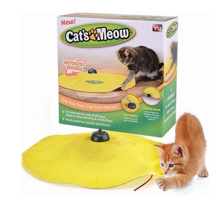 Katzenspielzeug Mäusejagd Undercover Mouse Indoor Zuhause Spielzeug Unterhaltung für Katz Katze Katzen TV Werbung Antiquitaeten 2