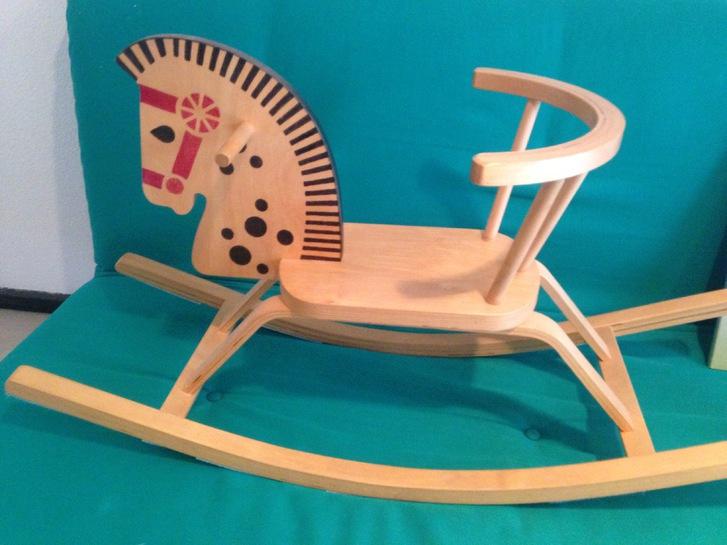 Kindersitzli Holzschaukel /Wippe Baby & Kind 2