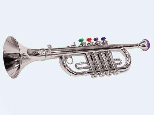 Kindertrompete Trompete Kind Musik Musiker Link und Rechtshändler Musikinstrument Instrument Kinder Spielzeug Spielzeuge & Basteln