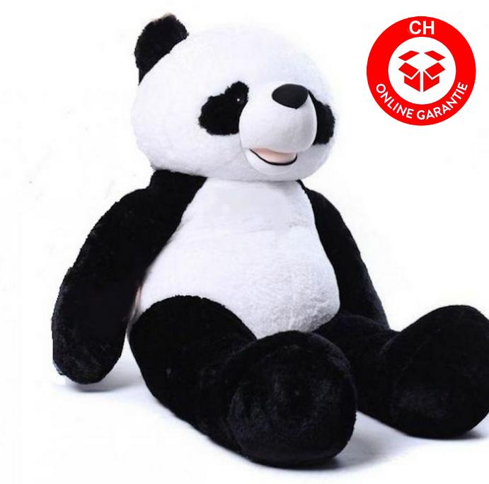 Kuscheltier Panda XXL 200cm Pandabär Plüsch Plüschtier Bär Teddy Schwarz Weiss Geschenk Kinder Freundin Spielzeuge & Basteln 2