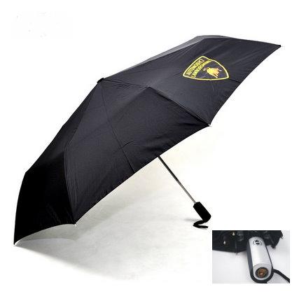 Lamborghini Fan Regenschirm / Taschenschirm Schwarz Geschenk Unisex für für Mann und Frau geeignet Kleidung & Accessoires