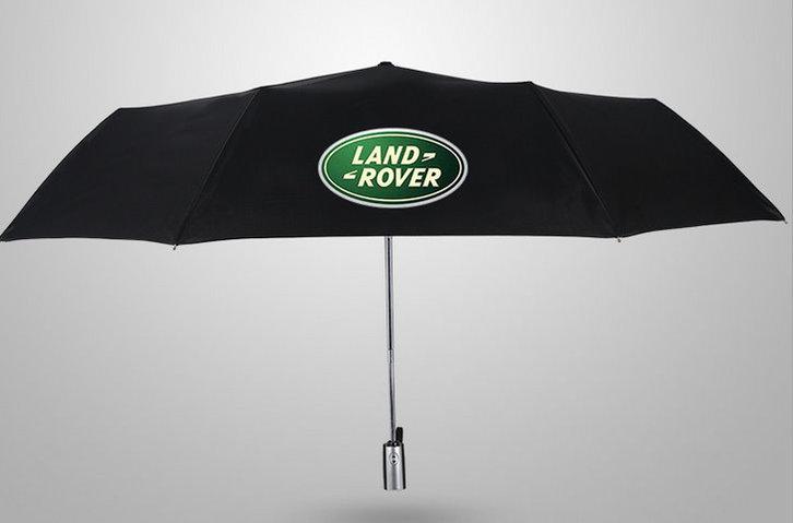 Land-Rover Regenschirm Land Rover Taschenschirm Rot Geschenk Unisex für für Mann und Frau geeignet Sport & Outdoor