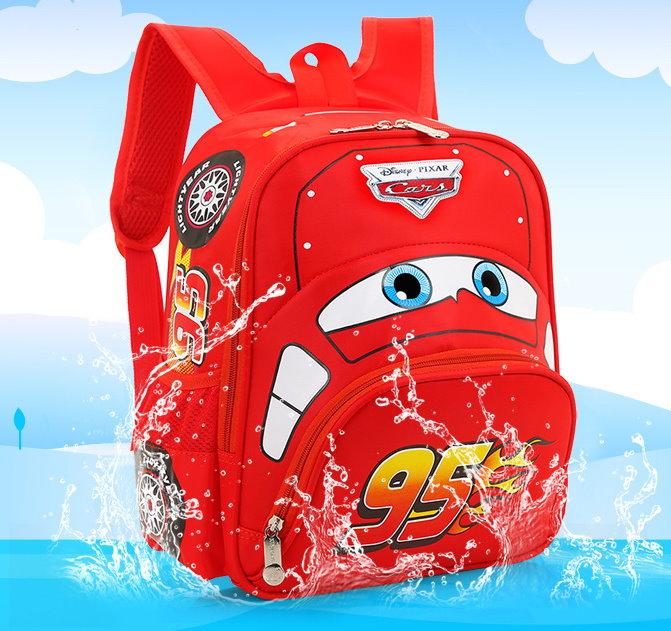 Lightning McQueen Rucksack Kinderrucksack Schul Tasche Cars Disney Auto Charakter Kinder Kindergarten Primar Schule Kind Junge NEU Sonstige 2