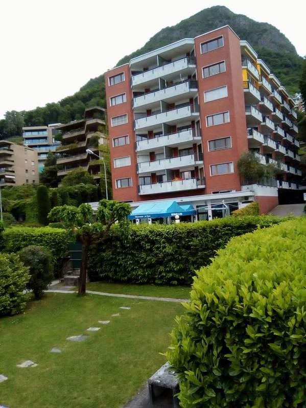 Lugano, Riva Paradiso 36, affitto monolocale arredato Immobilien 4
