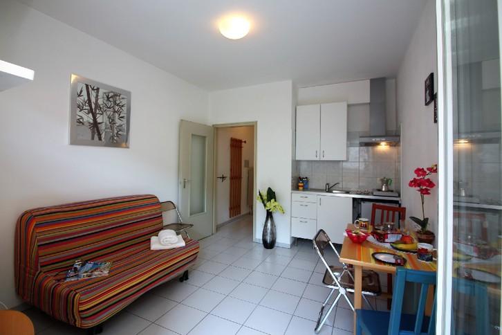 Lugano, affittasi appartamento arredato Immobilien