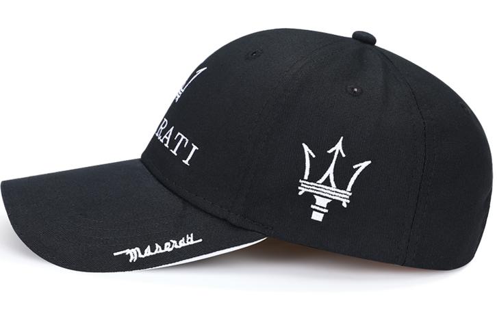 Maserati Cap Fan Mütze Baseballcap Kappe Schwarz Accessoire Kleidung & Accessoires 2