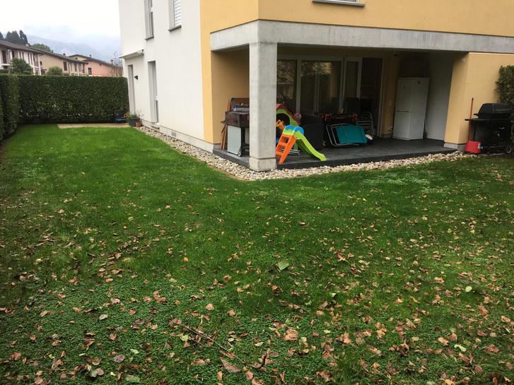 Meraviglioso appartamento duplex 4,5 locali in stile moderno con grande giardino privato a Ligornetto Immobilien