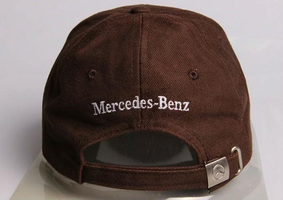 Mercedes-Benz Benz Cap Kappe Mütze Fan Shop diverse Farben Baumwolle Braun Schwarz Rot Blau  Kleidung & Accessoires 4