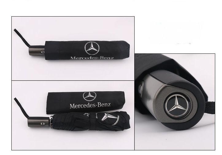 Mercedes-Benz Fan Regenschirm Benz Taschenschirm Lifestyle Outdoor Öffnungsautomatik Schutzhülle Schweiz Kleidung & Accessoires 2