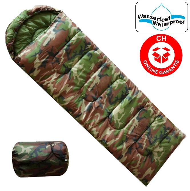 Militär Camping Schlafsack für Zelten Openair Camouflage Reisen Konzerte Outdoor Jagd Kleidung & Accessoires