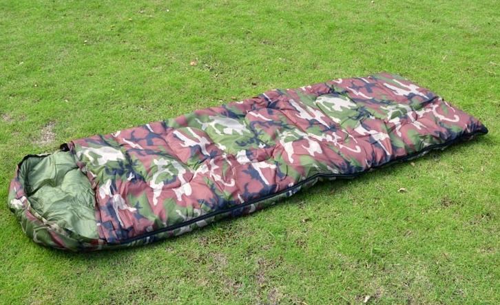 Militär Camping Schlafsack für Zelten Openair Camouflage Reisen Konzerte Outdoor Jagd Kleidung & Accessoires 2