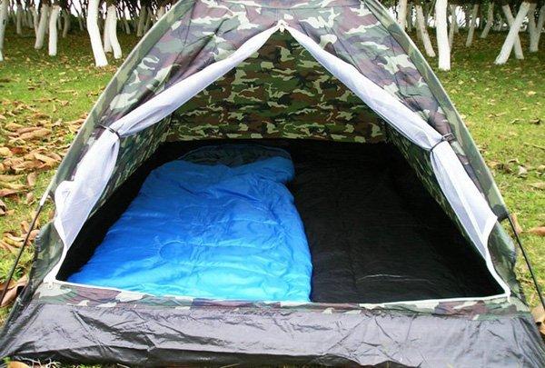 Militär Outdoor Camping Zelt für 2 Personen Openair, Camping, Jäger, Angler Sport & Outdoor 2
