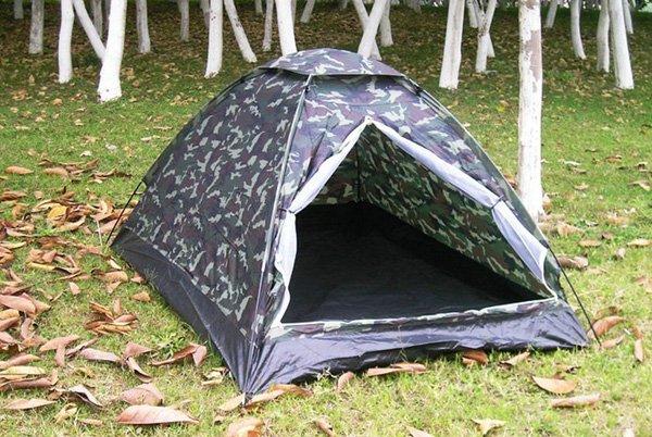 Militär Outdoor Camping Zelt für 2 Personen Openair, Camping, Jäger, Angler Sport & Outdoor 3