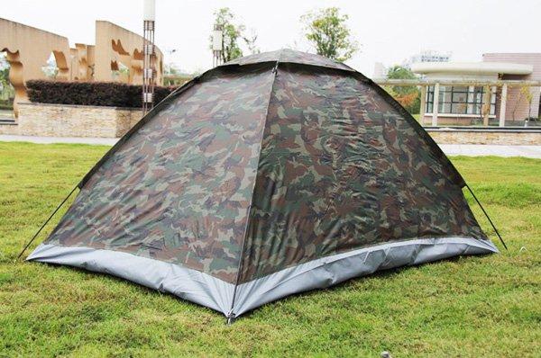 Militär Outdoor Camping Zelt für 2 Personen Openair, Camping, Jäger, Angler Sport & Outdoor 4