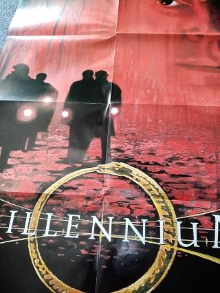 Millennium Plakat Orginal A1  signiert Laschet Sammeln 2