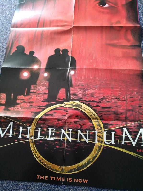 Millennium Plakat Orginal A1  signiert Laschet Sammeln 3