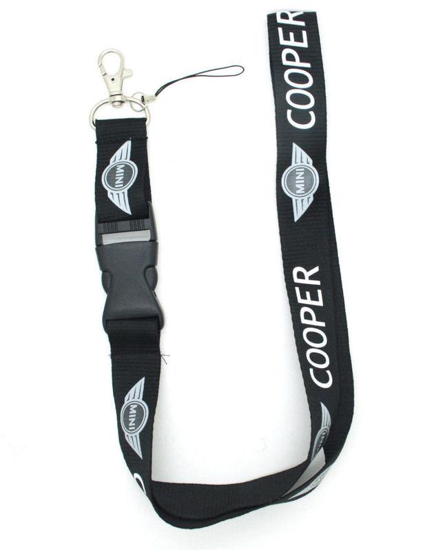 Mini-Cooper Mini Cooper  Auto Schlüsselband Schlüsselanhänger Anhänger Fan Sammler Schwarz Fahrzeuge