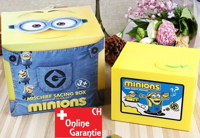 Minions Münz Geld Sparbox Spardose Sparschein Geschenk Kinder Münzen Sparen Baby & Kind 2