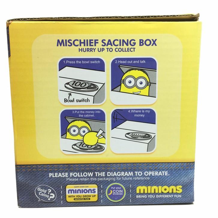Minions Münz Geld Sparbox Spardose Sparschein Geschenk Kinder Münzen Sparen Baby & Kind 3