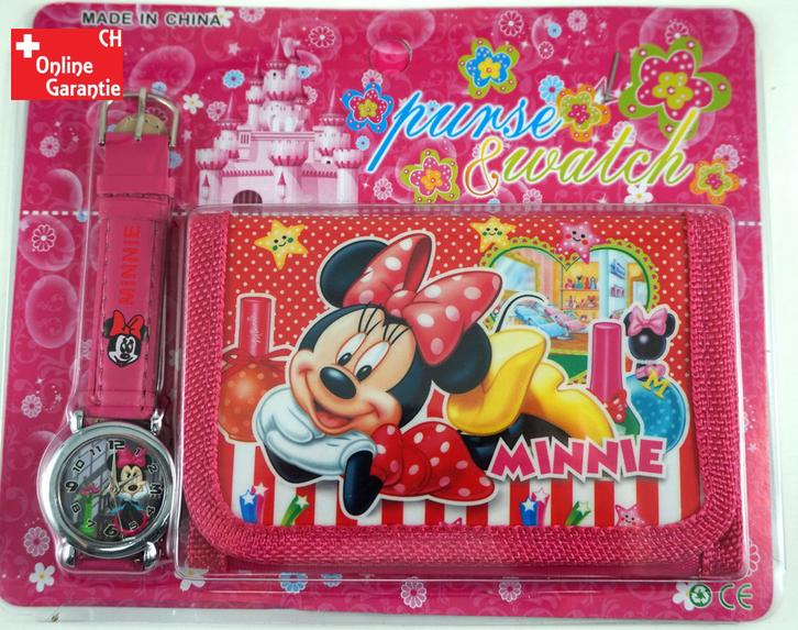 Neue Minnie Maus Uhr Geschenk Mädchen Minnie Mouse Baby & Kind