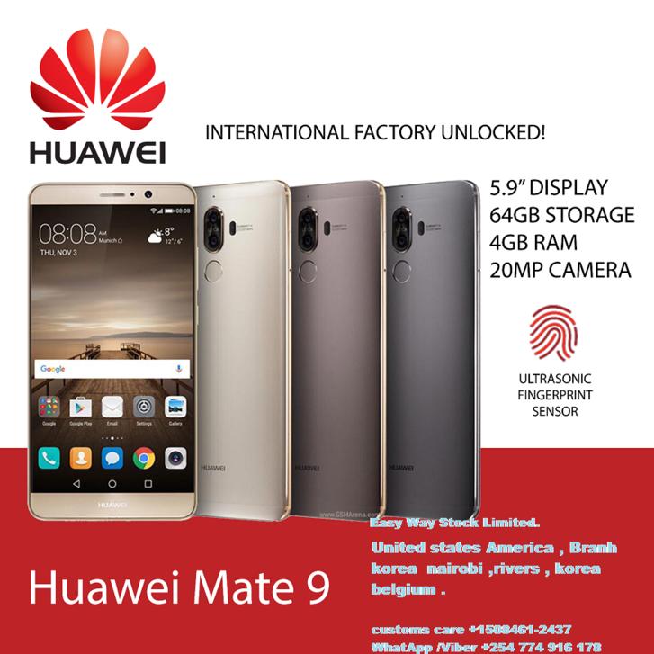 Neues Huawei mate9 Smartphone Geschenk Huawei smartWatch Telefon & Navigation