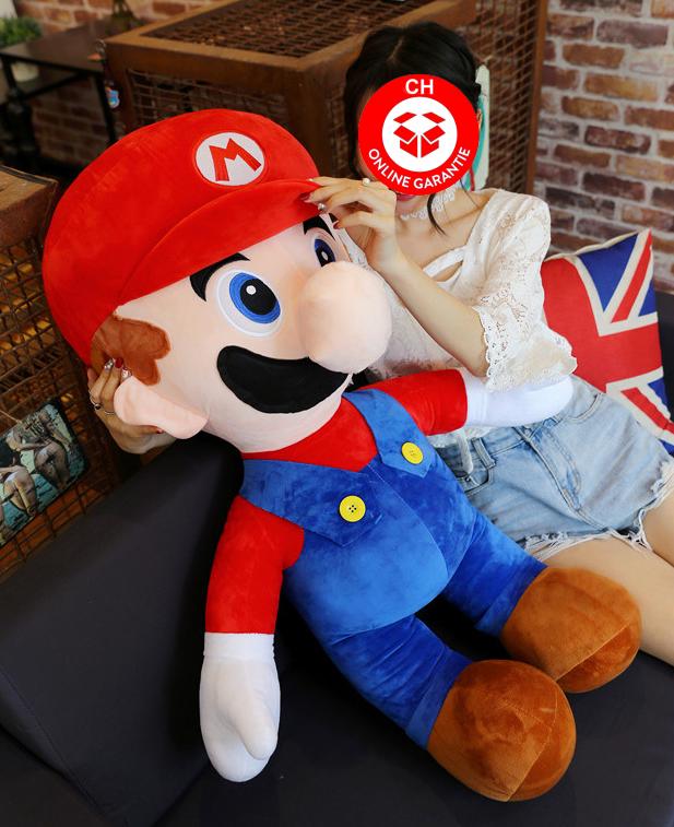 Nintendo Super Mario XXL Plüsch Figur Plüschtier Geschenk Kind Fan Rot Supermario Bros. Sonstige