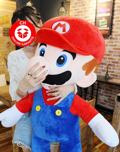 Nintendo Super Mario XXL Plüsch Figur Plüschtier Geschenk Kind Fan Rot Supermario Bros. Sonstige 2