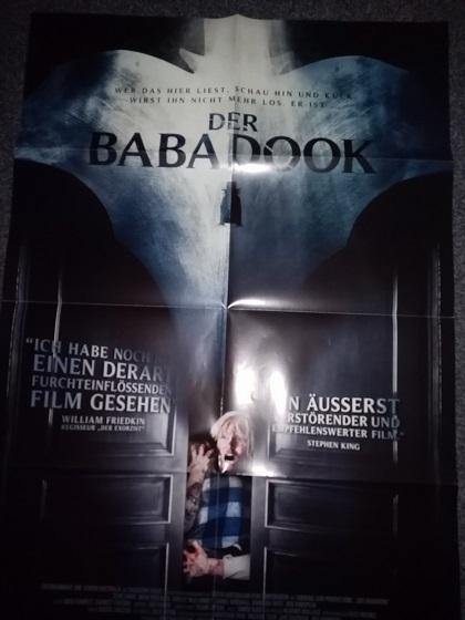 Orginal Film Plakat 2014  Der Babadook Immobilien