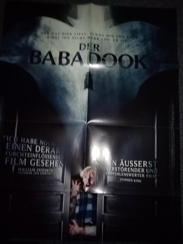 Orginal Film Plakat 2014  Der Babadook Immobilien 3