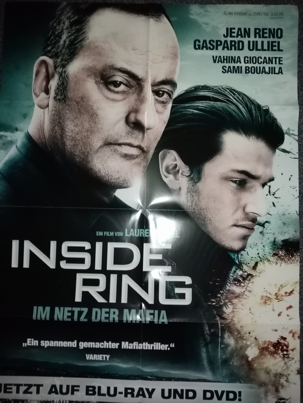 Orginal Plakat A1  Inside Ring  2009 Sammeln 3
