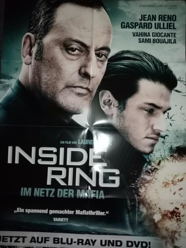 Orginal Plakat A1  Inside Ring  2009 Sammeln 4