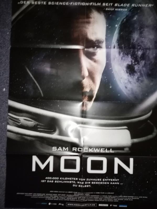 Orginal Plakat A1  Moon  2009 Sam Rockwell Sammeln