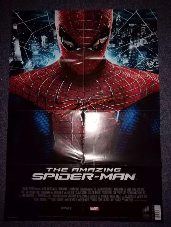 Orginal Plakat  Marvel  Spiderman  2012 Sammeln