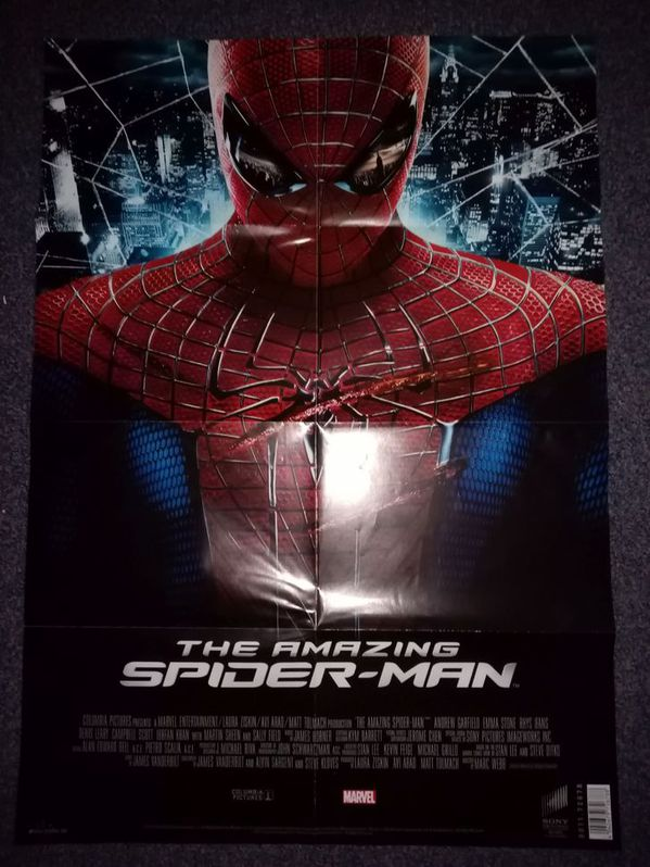 Orginal Plakat  Marvel  Spiderman  2012 Sammeln 3