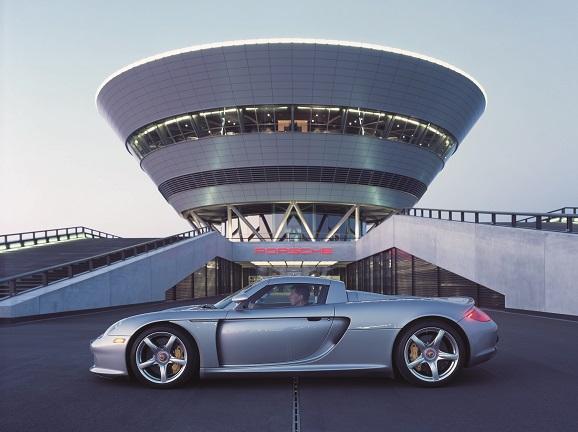 Orginal Porsche Presse Booklet mit CD Carrera GT Sammeln