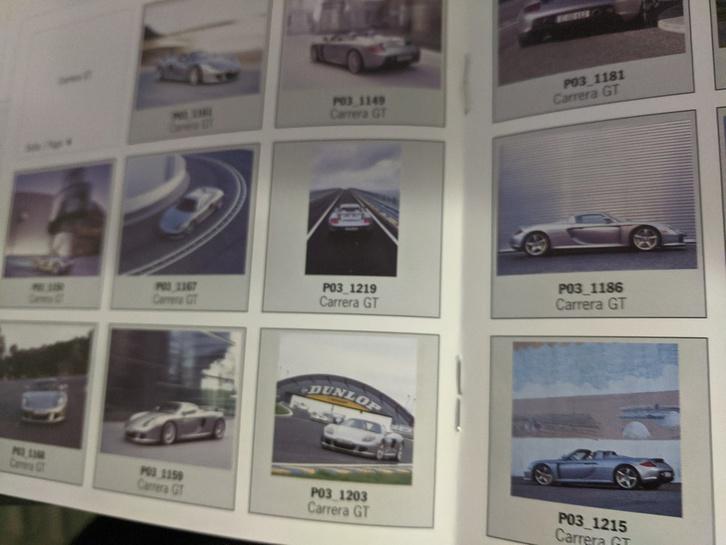 Orginal Porsche Presse Booklet mit CD Carrera GT Sammeln 3