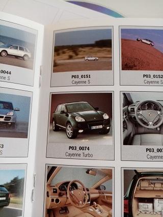 Orginal Porsche PresseBooklet Cayenne 1. Generation Sammeln