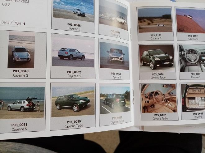 Orginal Porsche PresseBooklet Cayenne 1. Generation Sammeln 2