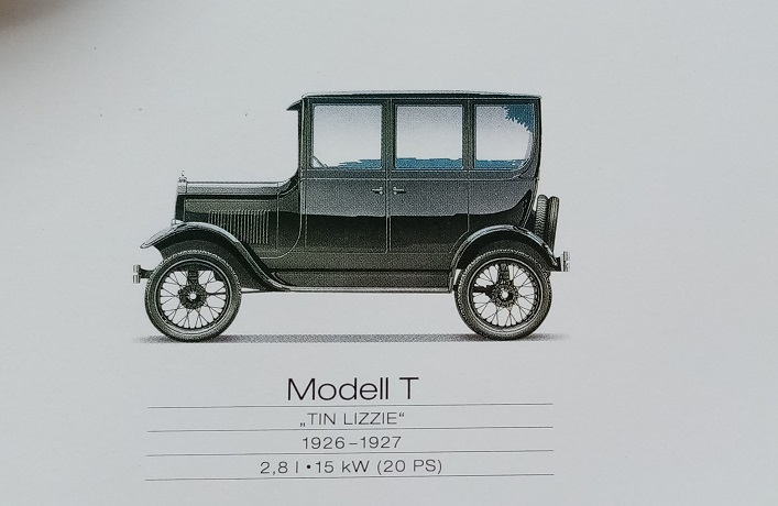 Orginal Werks Plakat Ford 2000 Sammeln