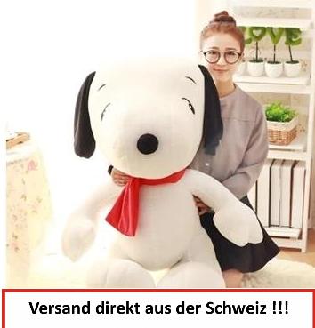 Peanuts Snoopy Riesig Weich XXL Plüschtier Kuscheltier Plüsch Hund Serie TV 100cm 1m Baby & Kind 2