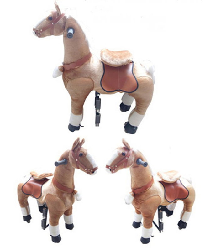 Pferd Pony zum Reiten für Kinder Kinderzimmer Spielzeug Mädchen Geschenk Kinder Kind Pferdeschauke Schweiz Baby & Kind 2