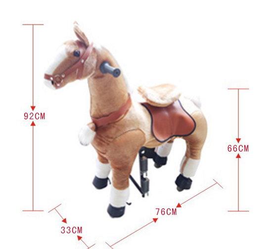 Pferd Pony zum Reiten für Kinder Kinderzimmer Spielzeug Mädchen Geschenk Kinder Kind Pferdeschauke Schweiz Baby & Kind 3