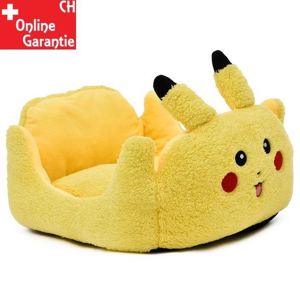 Pikachu Pokemon Katze Katzenbett Hunde Bett Hundebett Plüsch Herzig Süss Tiere