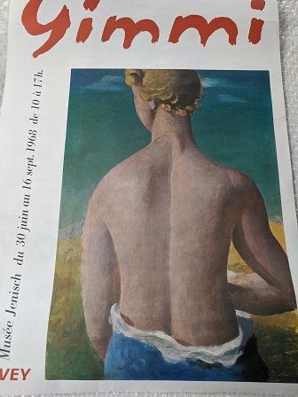 Plakat  1968 W. Gimmi  Waadt  Der entzueckende Ruecken Sammeln 4