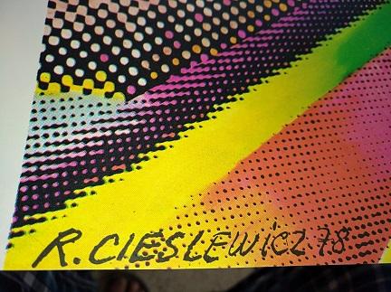 Plakat 1978 La femme Roman Cieślewicz Antiquitaeten